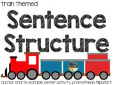 Sentence Train {Editable Center, Anchor Charts, Promethean Flip Chart)