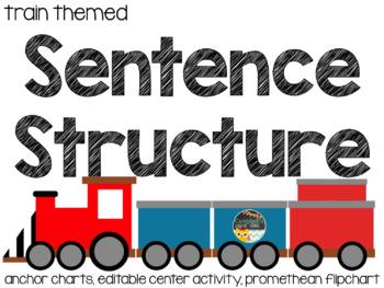 Sentence Train Worksheets & Teaching Resources | TpT