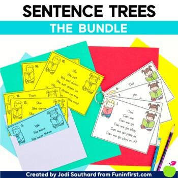 Sentence Tree Bundle (Sight Words, Short Vowels, Long Vowels, & Blends)
