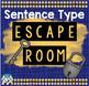 Sentence Type Escape Room