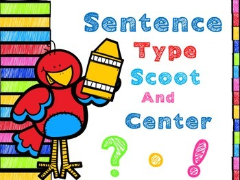 Sentence Type Scoot and Center