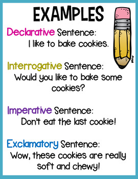 Sentence Type Sort - Fourth Set