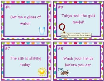 Sentence Type Task Cards