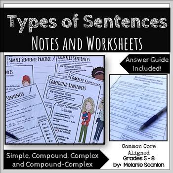 Compound Complex Compound Complex Sentence Teaching Resources
