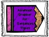 Sentence Types Attention Grabber Freebie!