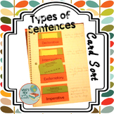 Sentence Types Card Sort