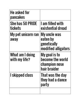 Sentence Types Creation