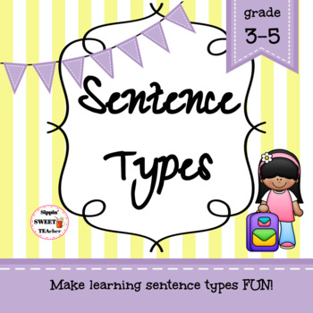 Sentence Types Game/Sort Pack