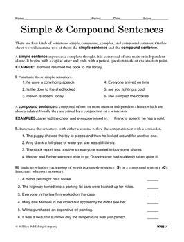 Sentence Types (CCSS L.7.1b)
