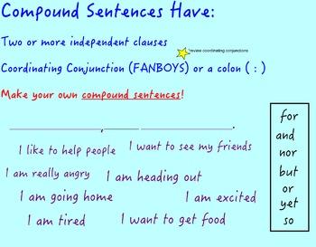 Sentence Types - Interactive Smartboard Presentation