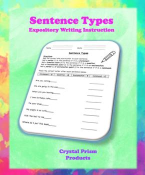 Sentence Types (Hochman Method Aligned Resource for Elementary School)