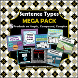 Sentence Structure MEGA PACK: Simple, Compound, Complex