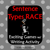 Sentence Structure Race Game: Simple, Compound, Complex Sentence Types