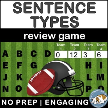 Sentence Types Review Bomb Game