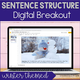 Sentence Types (Simple, Compound, Complex, Compound-Complex) Digital Breakout