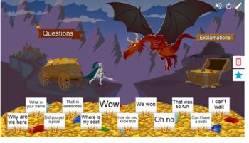 Sentence Types Smart Lab Interactive Whiteboard Activities