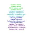 Sentence Types Song (Declarative, Imperative, Interrogativ