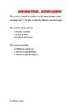 Sentence Types - Sorting Activity