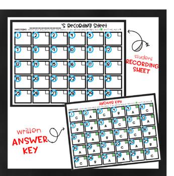 Simple, Compound, Complex Sentences - Multiple Choice (QR Code self-checking!)