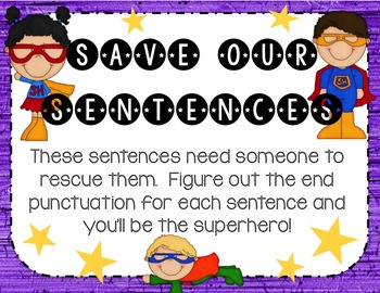 Sentence Types and End Punctuation