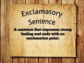 Sentence Types and Structures