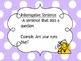 Sentence Types: declarative, interrogative, exclamatory, and imperative