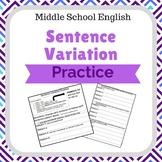 Sentence Variation Practice