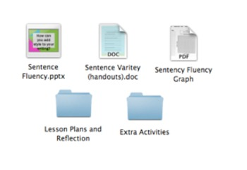 Sentence Variety Bundle- Varying Sentence Length and Sentence Starters