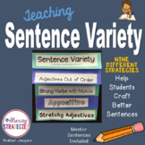 Sentence Variety: Using Different Sentence Structures for