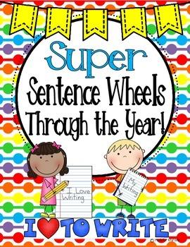 Sentence Wheels Through the Year
