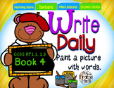 Sentence Writing Prompts 1.4 Phonics Sight Words