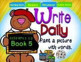 Sentence Writing Prompts 1.5 Phonics Sight Words