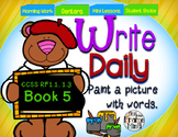 Sentence Writing Prompts 1.5 Phonics Sight Words