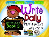 Sentence Writing Prompts 1.3 Phonics Sight Words