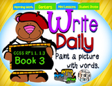Sentence Writing Prompts 1.3 Phonics Sight Words