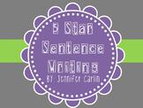 Sentence Writing - 5 Star Writing