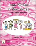Sentence Writing Activities