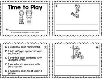 Sentence Writing Booklets