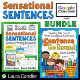 Sentence Writing Activities Bundle | Google Classroom Reso