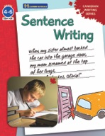 Sentence Writing - Canadian Writing Series Gr. 4-6