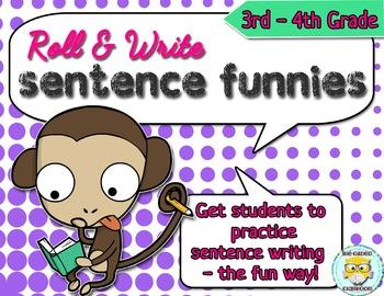 Sentence Writing Center Activity