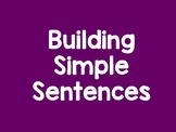 Writing Complete Sentences Cut, Paste, and Copy SPANISH