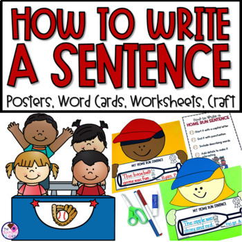 Sentence Writing From Start to Finish Home Run Sentence Writing