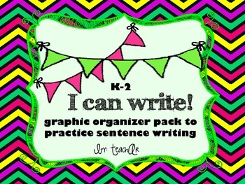 Sentence Writing Graphic Organizer Pack