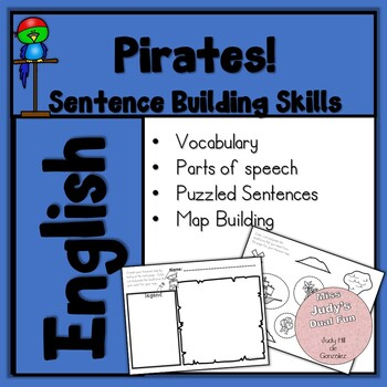 Sentence Writing, Pirate theme