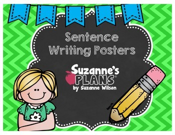 Sentence Writing Posters