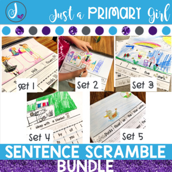 Sentence Writing Practice BUNDLE