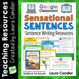 Google Classroom Sentence Writing Activities