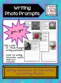 Sentence Writing Practice with Photo Prompts 2nd-3rd