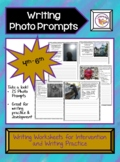 Sentence Writing Practice with Photo Prompts, 4th-6th grad